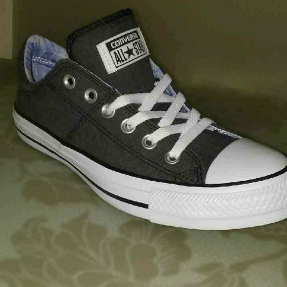 0ca069c4dc65 Women s Charcoal Grey Converse Madison Sneakers
